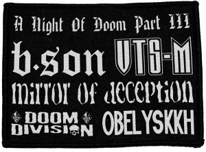 Night Of Doom part III Patch