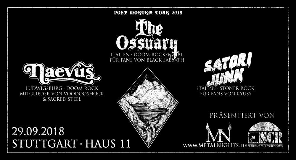 The Ossuary // Naevus // Satori Junk