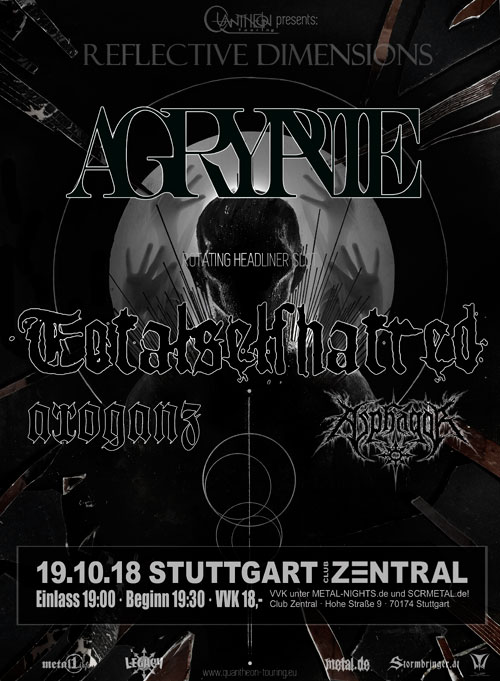 Agrypnie // Totalselfhatred // Arroganz // Asphagor